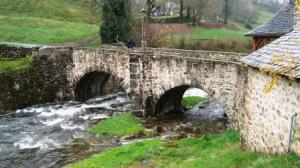 bridge at St-Chely
